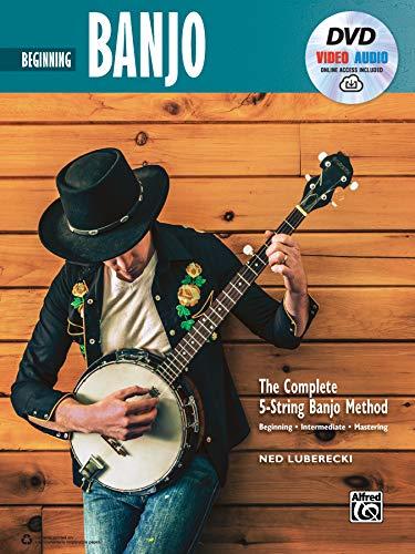 - Complete 5-String Banjo Method: Beginning Banjo, Book, DVD & Online Video/Audio (Complete Method)