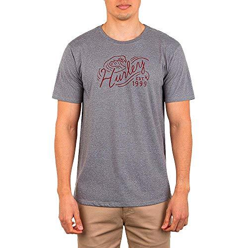 Hurley M Wavescript S/S heren T-shirt