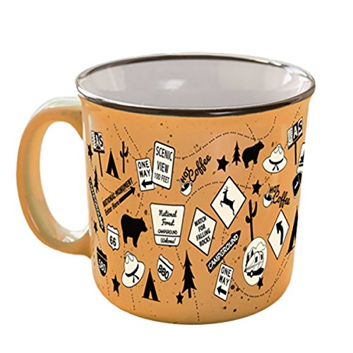 Camp Casual Mug made our list of Camping Gifts For Mom Fun And Unique Mother's Day Gift Idea Guide For Camping Moms
