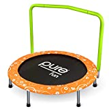 Pure Fun Kids 36'' Foldable Kids Mini Trampoline