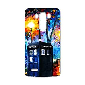 Happy Doctor Who unique pavilion Cell Phone Case for LG G3