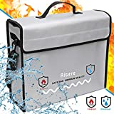 Aitere 2500°F Fireproof Bag (15'x12'x5' Inch), 2019 New-Version Fireproof Document & Money Bags - Non Itchy, Strong Three Layer Heat Protection for Cash, Valuables, Passport & Jewelry