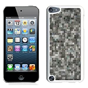 Fashionable Custom Designed iPod Touch 5 Phone Case With TV No Signal_White Phone Case