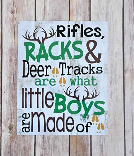 Little Boy Nursery Decor - Hunting Theme Baby Shower Gift - Woodland Nursery Art (Outdoor Hunting Decor)