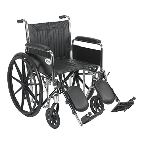 Wheelchair Std Rem Full Arms 20 Elevating Leg Rests Rem Full Arms