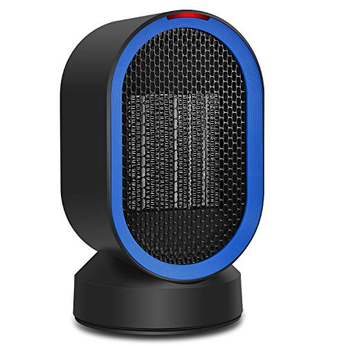 ADDSMILE Heating Heater Fan Portable Space Heater with Electric Ceramic Personal Desktop Auto Oscillating Heater with Power Off Protection Multiple Fan with Warm Natural Wind for Home Office by ADDSMILE
