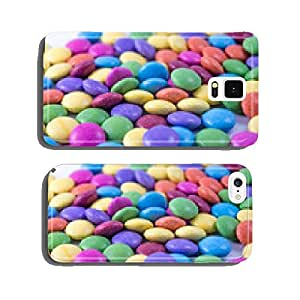 Colorful lentils on white background isolated cell phone cover case iPhone6 Plus