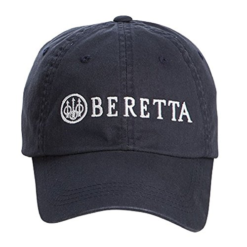 Beretta Men's Cotton Twill Hat, Navy, One Size Beretta Slide