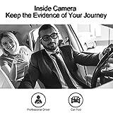 AKASO Trace 1 Dual Dash Cam for Cars, Car Dash