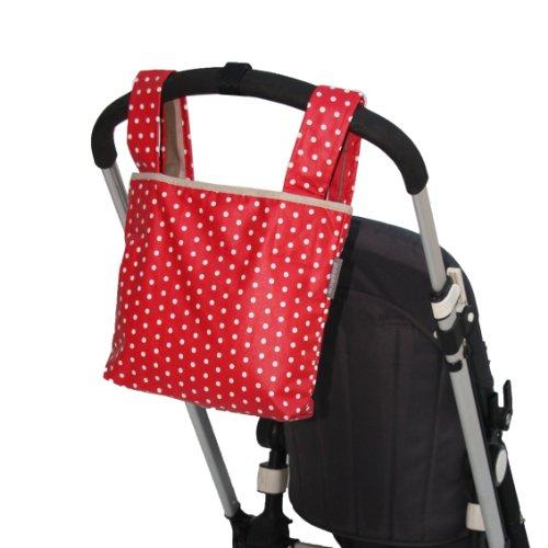 Poplico  - Bolsas para sillas de paseo y patinetes grandes (Cherry)
