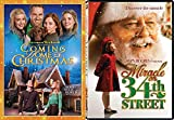 Norman Rockwell Holiday Pack 2 Movie Spirit Miracle on 34th Street John Hughs / Coming Home for Christmas DVD Double Cheer