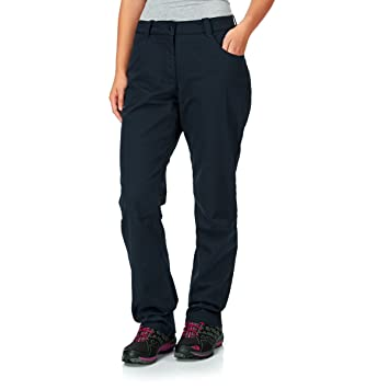 Jack Wolfskin Manitoba Winter Pants Women Night Blue Amazon De