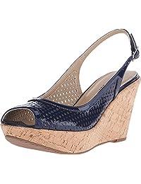VANELi Women's Emine Black Patent sandals 8 N