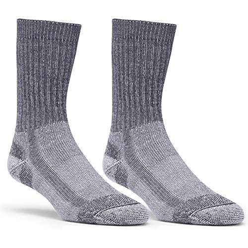 EMS Light Hiking Socks, 2-Pack Charcoal L ()