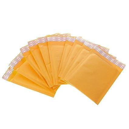 naty 10 piezas Kraft Bubble Mailers Bolsas de correo ...