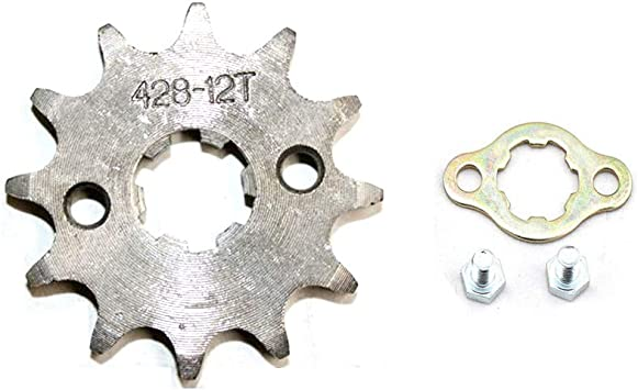 DSparts 17T Teeth/20mm/428/Chain/Front/Sprocket/Cog/Fit 110cc 125cc 140cc PIT PRO PIT Bike Trail Bike Dirt Bike Thumpstar