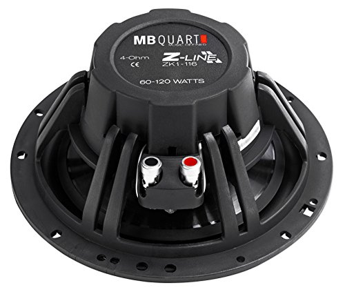 (4) MB Quart ZK1-116 6.5'' 480 Watt Car Audio Speakers w/Ceramic Coated Tweeters by MB Quart (Image #5)