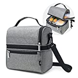 E-manis Insulated Lunch Bag Lunch Box Cooler Bag Review and Comparison