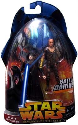 Hasbro Star Wars Revenge Of The Sith Action Figure Anakin Skywalker #28 2005 USA