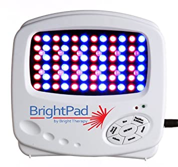 Amazon Com Bright Pad By Brighttherapy Bt L84 Acne Light Blue Red
