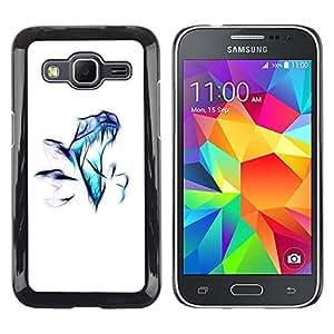 """For Samsung Galaxy Core Prime / SM-G360 , S-type Raptor aerógrafo"""" - Arte & diseño plástico duro Fundas Cover Cubre Hard Case Cover"""