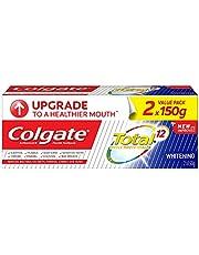 Colgate Total Whitening Antibacterial Toothpaste Valuepack 150g x 2