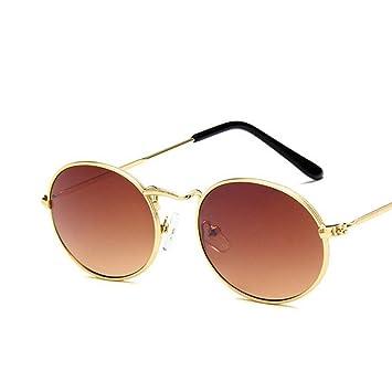 XCTY Gafas De Sol Gafas De Sol Ovaladas Mujer Vintage Hombre ...