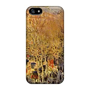 New Arrival Cover Case With Nice Design For Iphone 5/5s- Carnaval Boulevard Des Capucines By Monet
