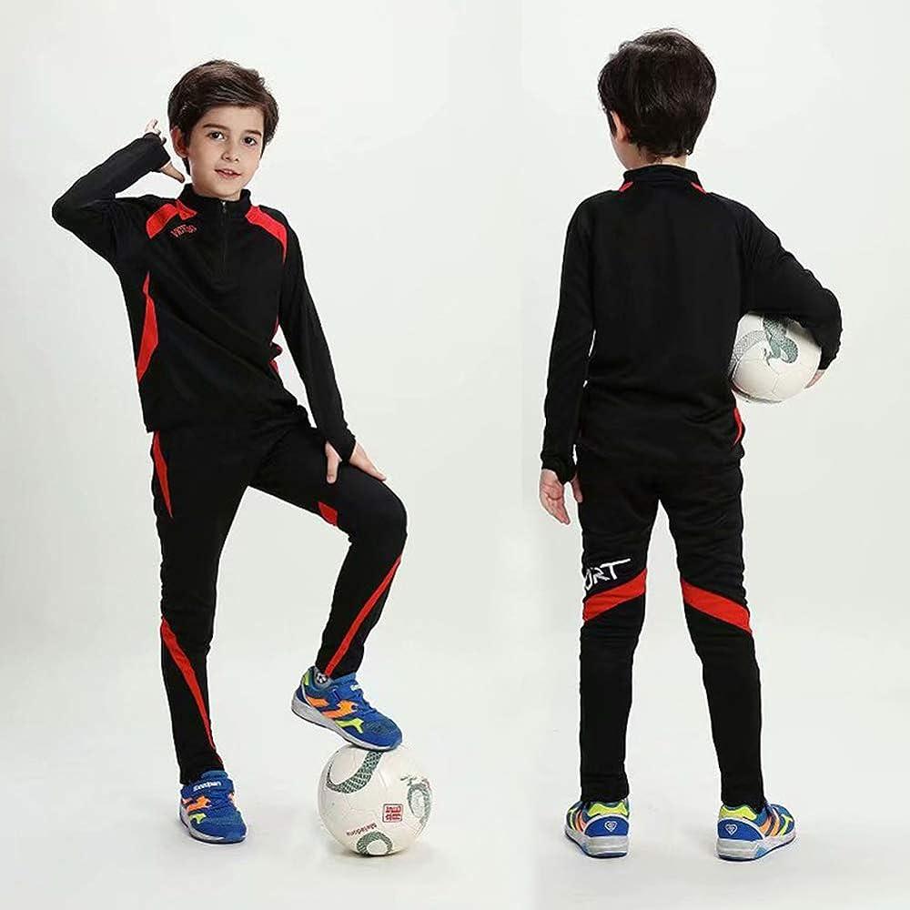 Sudadera de fútbol para niños Chándal Manga Larga Traje de Correr ...