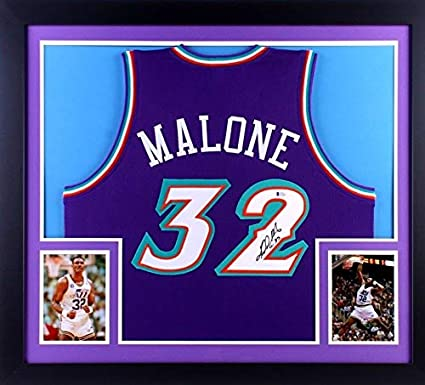 Image Unavailable. Image not available for. Color  Karl Malone Autographed  Signed ... 78ff0304b