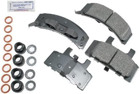 Brand New Akebono Front Ceramic Brake Pads Fits Chevrolet GMC Dodge  ACT370