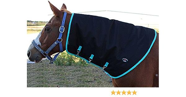 CHALLENGER Large Horse Winter Blanket Neck Cover Hood 52010