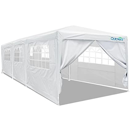 newest d3dc4 4e597 Quictent 10' x 30' Party Tent Gazebo Wedding Canopy BBQ Shelter Pavilion  with Removable Sidewalls & Elegant Church