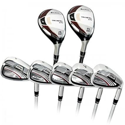 Amazon.com: orlimar Juego de ZXP tri-metal Pro Edition Irons ...