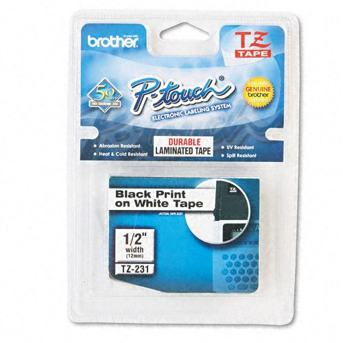 Brother Standard Adhesive Laminated Labeling