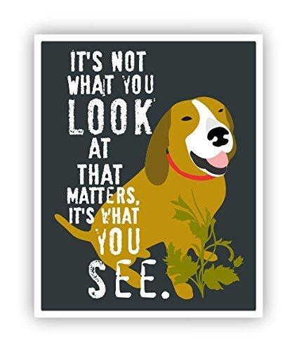 Amazon.com: Coonhound Poster Dog Wall Decor 11 x 14 Inspirational ...