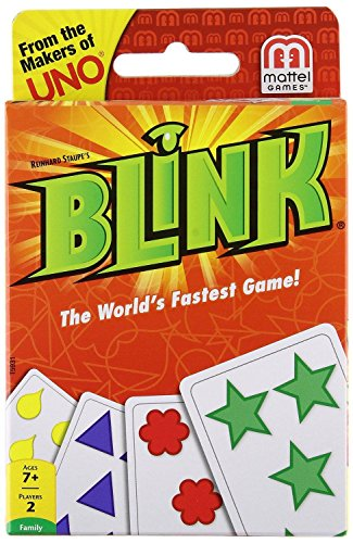 Classic UNO & Reinhard Staupe's BLINK card Game Bundle 2 Game Pack