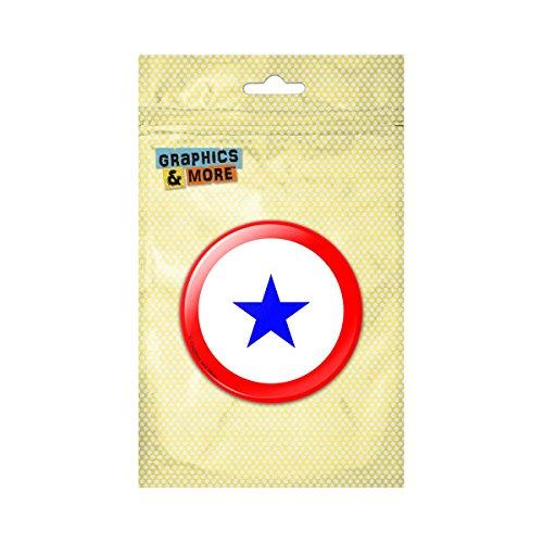 Blue Star Service Pins (Blue Star Flag One 1 War Mother Service Pinback Button Pin Badge - 1 Inch Diameter)