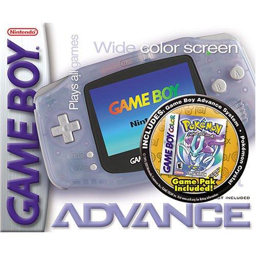 Game Boy Advance Pokemon Crystal Pak