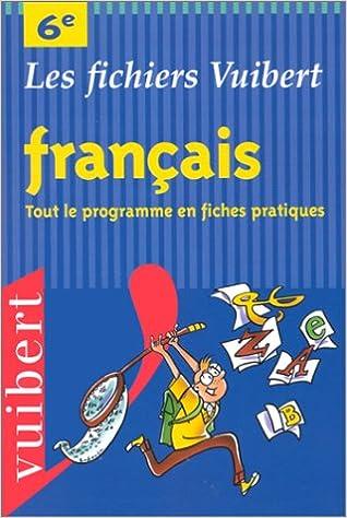 Français, 6ème epub pdf