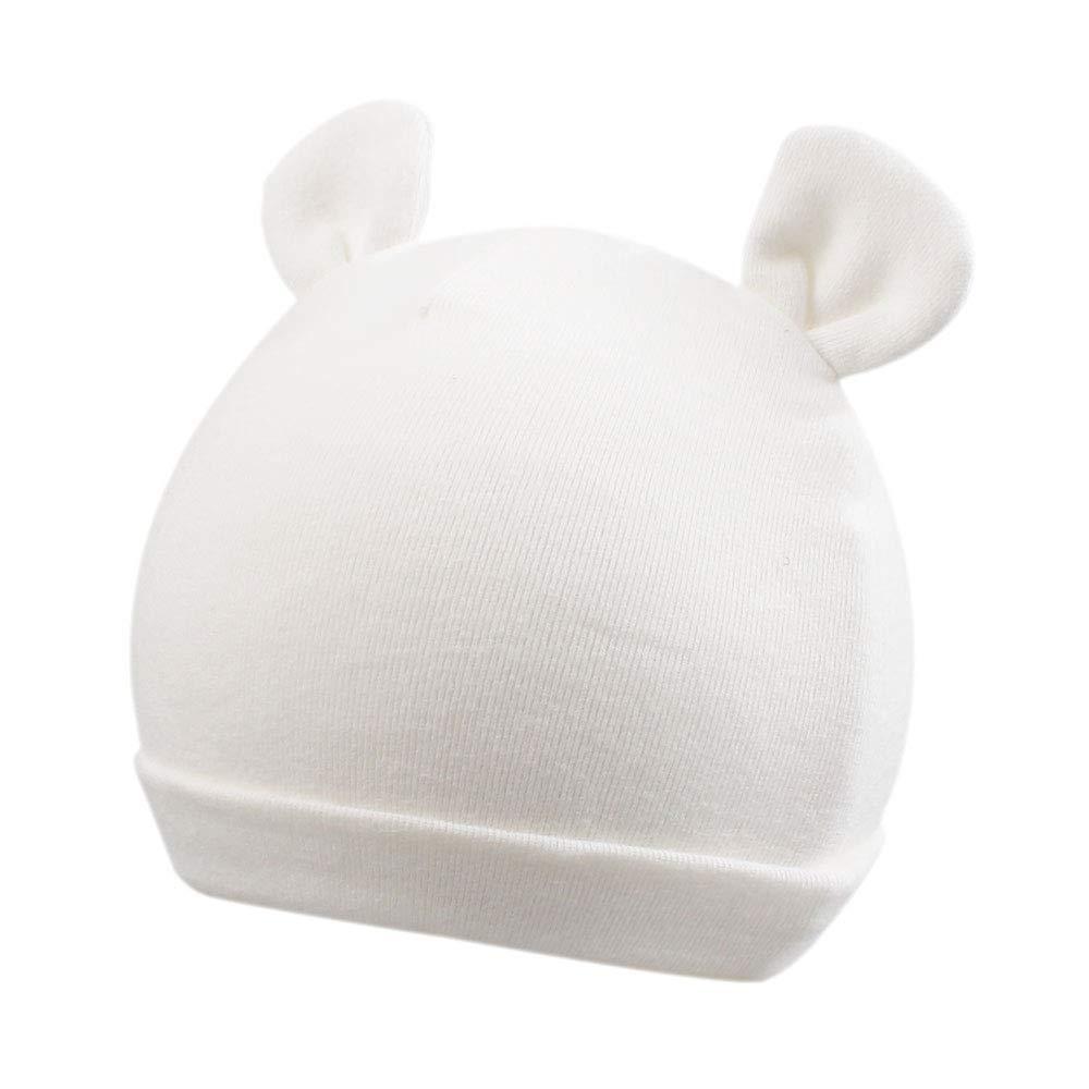 Cotton Newborn Baby Girls Hat Spring Newborn Boys Hat Cute Rabbit Infant Beanie