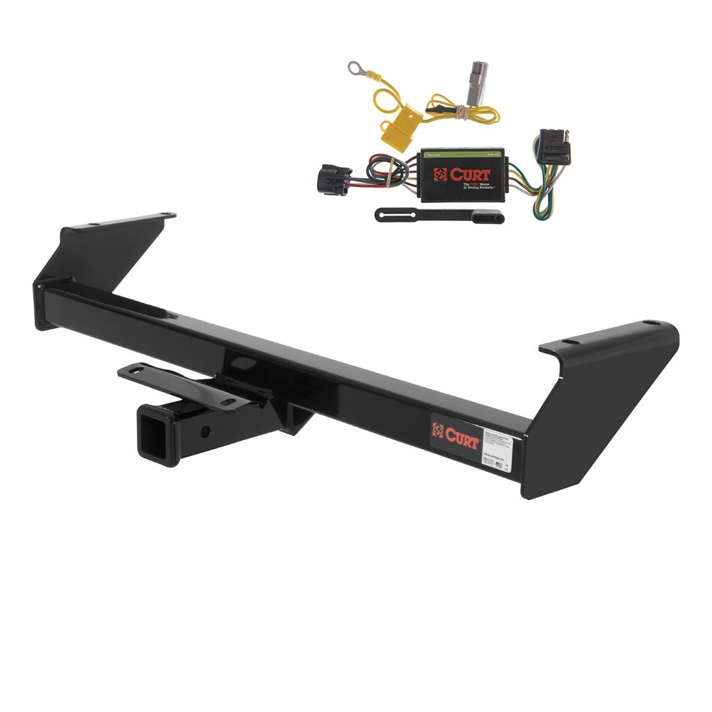 Curt 13180-55367 Trailer Hitch and Wiring Package Curt Manufacturing