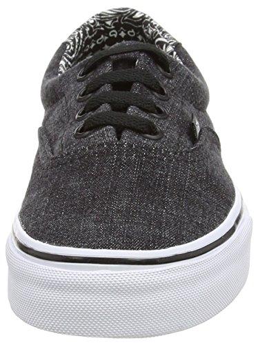 Vans Era 59 - Zapatillas Unisex adulto negro - Black (Acid Denim - Black/Bandana)