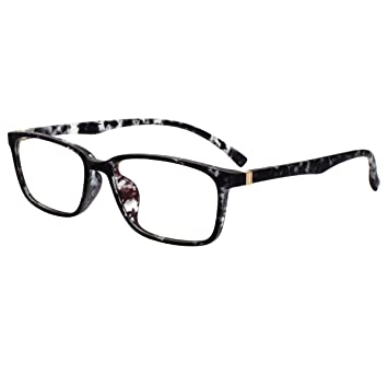 c7b5bc5a2f30 Lightweight TR90 Computer Readers Oversized Eyeglasses Frames Anti-Blue  Light Reading Glasses 2186S +2.50