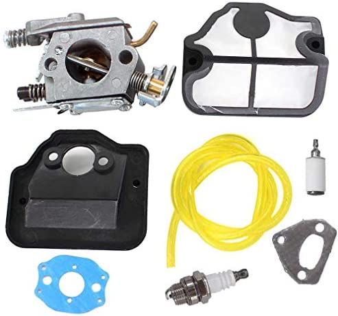 Carburatore Kit Sostituisce per Husqvarna 41 136 137 141 142 Motosega Zama