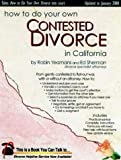 How to Do Your Own Contested Divorce in California