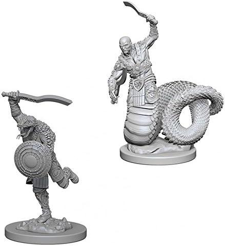 D/&D Unpainted Nolzur/'s Marvelous Miniatures Yuan-Ti Pureblood Adventurers