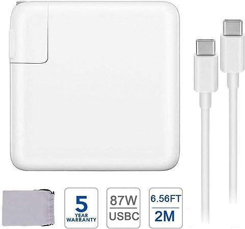 Amazon.com: Adaptador de alimentación de cargador USB C de ...
