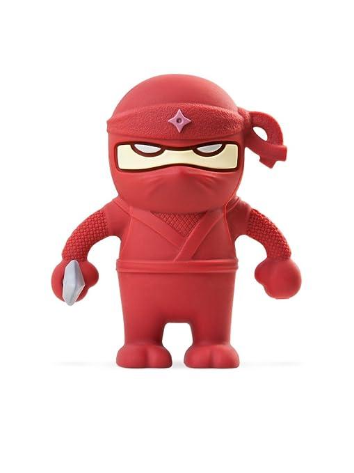 Amazon.com: Bone Collection 16 GB Rojo Ninja Dual USB Drive ...