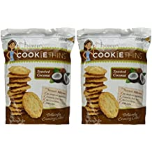 Mrs. Thinster's TOASTED COCONUT Cookie Thins 16 Oz (Pack of 2)
